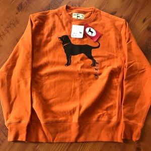 Black Dog Sweatshirt brand new with tags size M